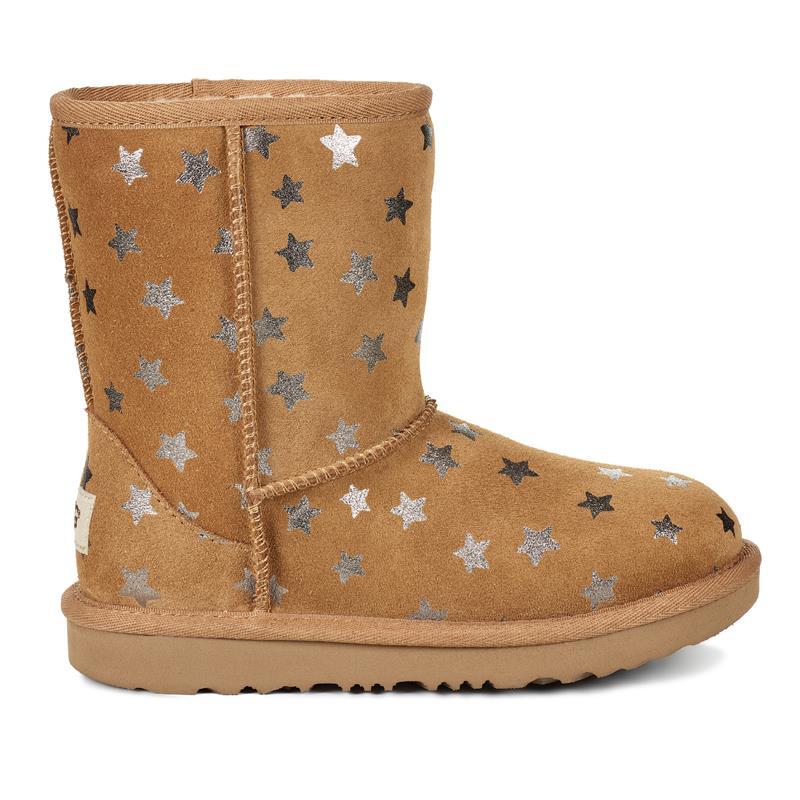 Kids Ugg Clic Ii Short Stars Boot Gs Ps