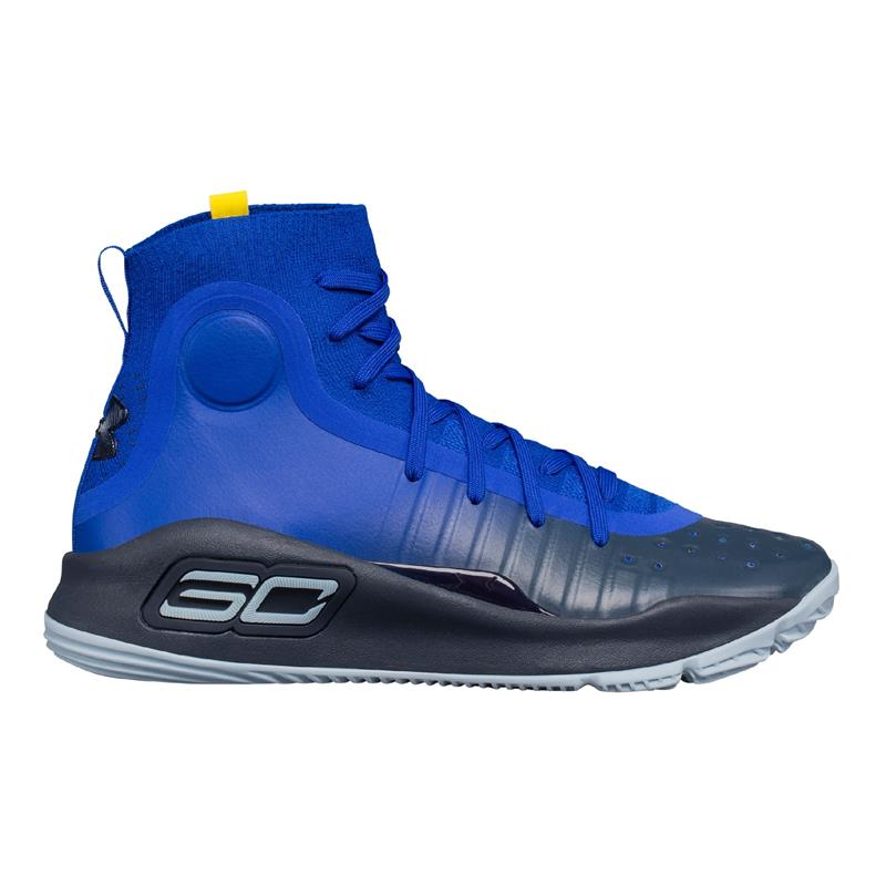 Kids' UA Curry 4 Mid Basketball Shoes GS
