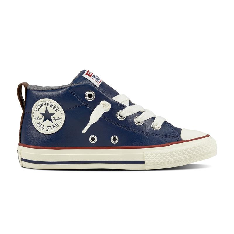 49e9985732d1f7 Kids  Converse Chuck Taylor All Star Street Leather and Shearling Mid ...