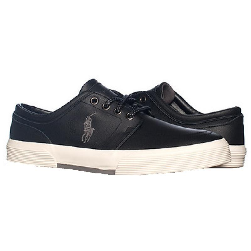 men 39 s polo ralph lauren faxon low leather sneaker. Black Bedroom Furniture Sets. Home Design Ideas