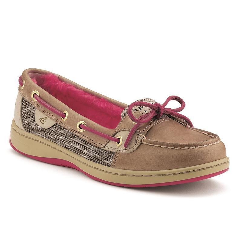 Womenu0026#39;s Angelfish Slip-On Boat Shoe