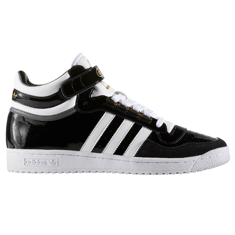 adidas patent leather sneakers