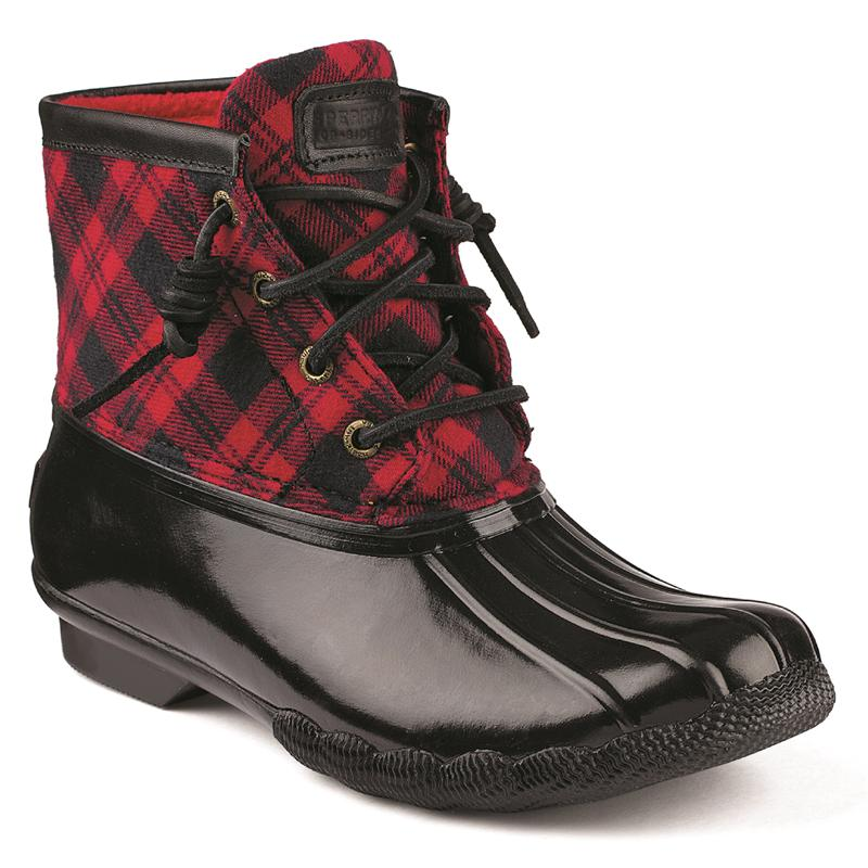 Women S Saltwater Plaid Boot